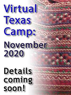 Virtual Texas Camp 2020 - November 2020: details soon