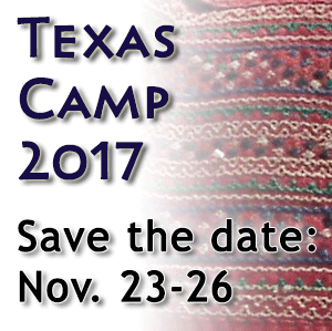 Texas Camp 2017 - Save the Date: November 23-26