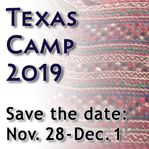 Texas Camp 2019 - Save the Date: November 28 - December 1