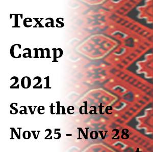 Virtual Texas Camp 2021 - November 25 - November 28, 2021
